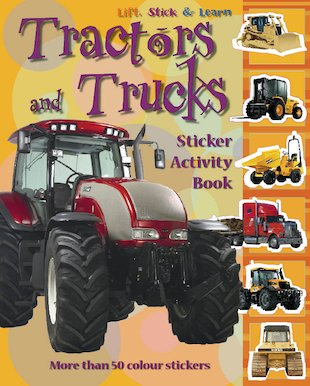 Tractors and Trucks Sticker Book