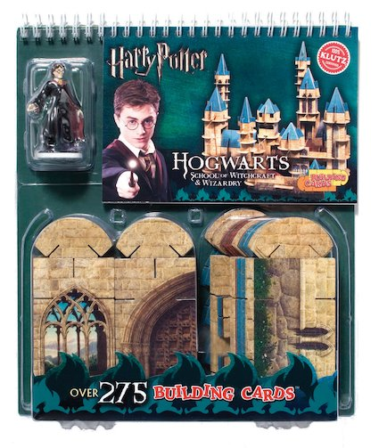 Building Cards: Hogwarts School of Witchcraft and Wizardry