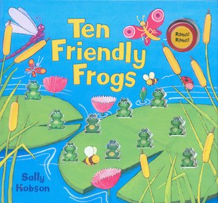 Ten Friendly Frogs