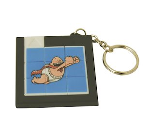 FREE Captain Underpants puzzle keyring