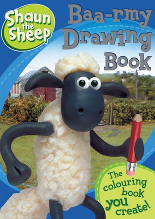 Shaun The Sheep: Baa-rmy Drawing
