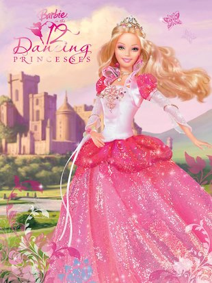 Barbie: 12 Dancing Princesses Storybook