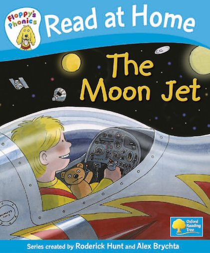 Floppy's Phonics: The Moon Jet