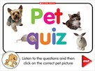 Pet quiz – interactive game