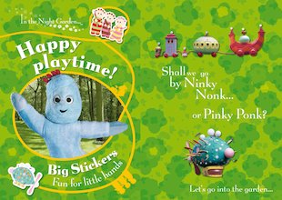 Happy Playtime! Big Stickers