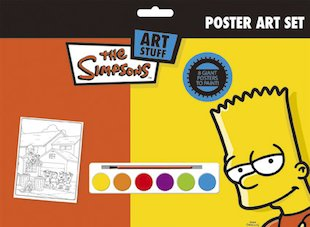 Simpsons Poster Art