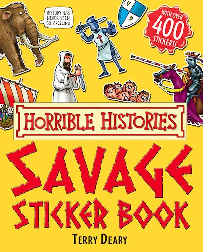 Savage Sticker Book