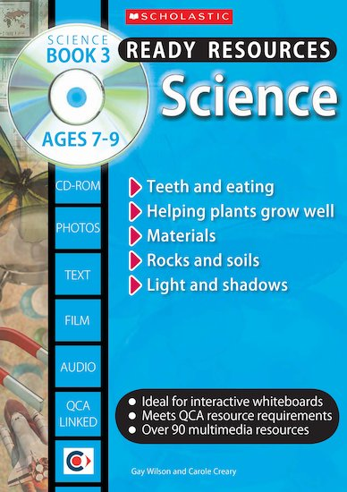 Science Book 3 and CD-ROM