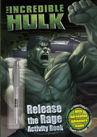 The Incredible Hulk Activity Book