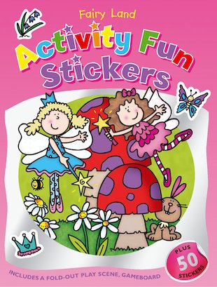 Activity Fun Stickers: Fairy Land