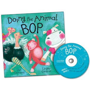 Doing the Animal Bop: Book and CD