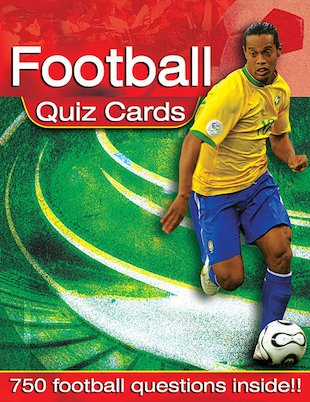 Football Quiz Cards
