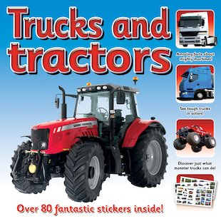 Trucks and Tractors Sticker Station