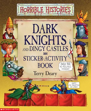 Dark Knights and Dingy Castles Sticker-Activity Book