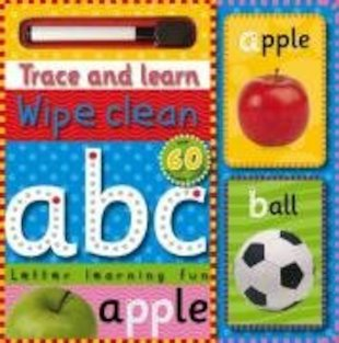 Trace and Learn Wipe-Clean ABC