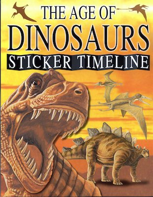The Age of Dinosaurs Sticker Timeline