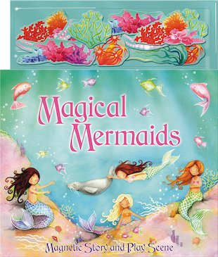 Magnetic Play Scene: Magical Mermaids