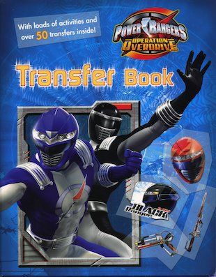 Power Rangers Transfer Book