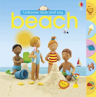 Usborne Look and Say: Beach