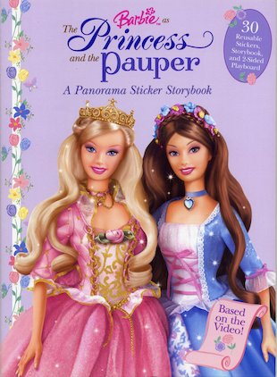 Barbie: The Princess and the Pauper Sticker Book