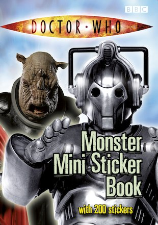Doctor Who: Monster Mini Sticker Book