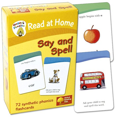 Floppy's Phonics Flashcards: Say and Spell