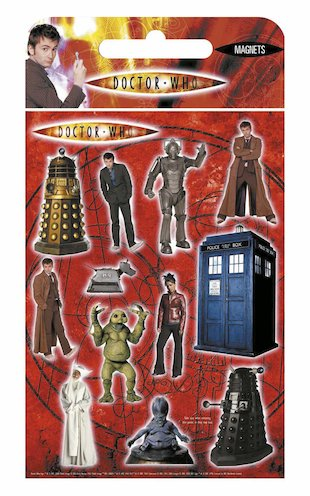 Doctor Who Fridge Magnets