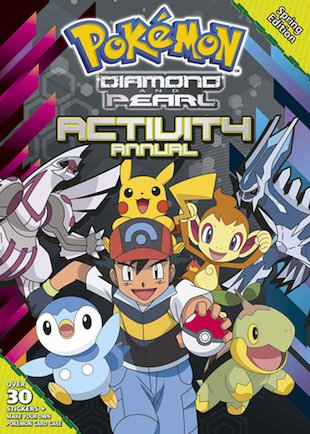 Pokemon Activity Annual