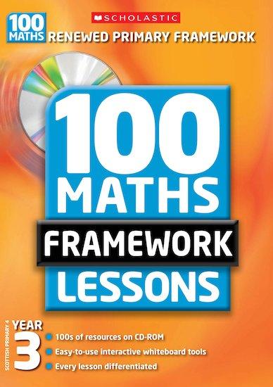 100 Maths Framework Lessons: Year 3 - Scholastic Shop
