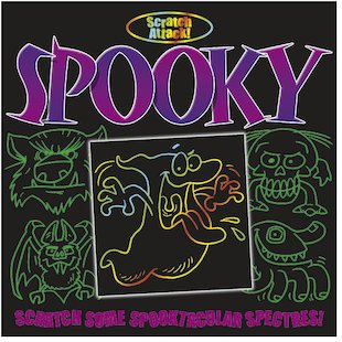Scratch Attack! Spooky