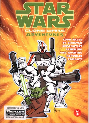 Star Wars: Clone Wars Adventures Vol. 3