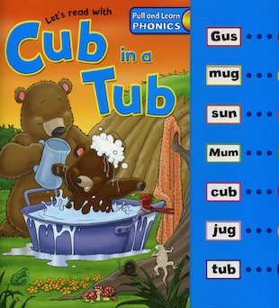 Pull And Learn: Cub In A Tub
