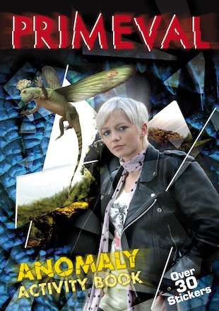 Primeval Anomaly Activity Book