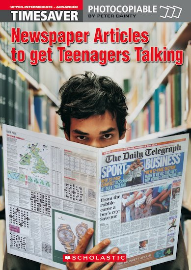 Timesaver Newspaper Articles to Get Teenagers Talking (Cornelsen ed)