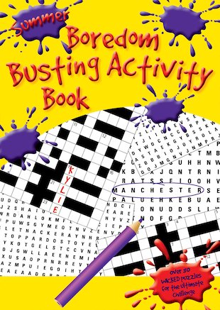 Summer Boredom Busting Activity Book