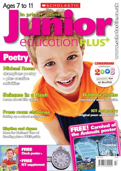 Junior Education PLUS July 2008