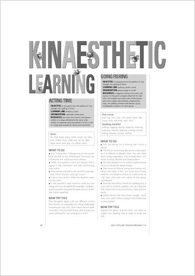 Kinaesthetic learning