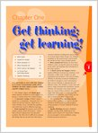 Get thinking, get learning! (1 page)