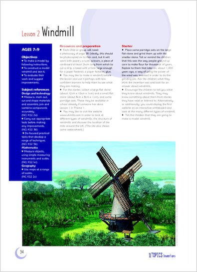 Lesson 2: Windmill