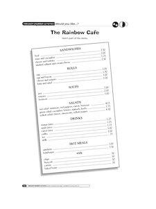 The Rainbow Café