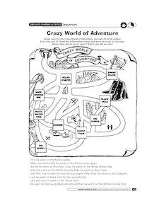 Crazy world of adventures
