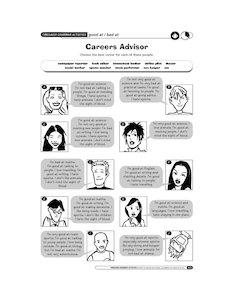Careers advisor