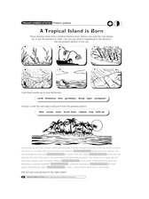 A tropical island is born