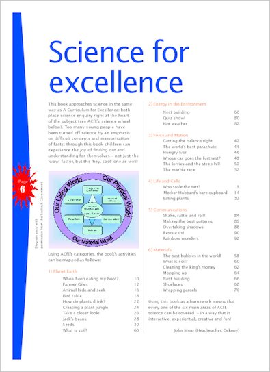 Science for excellence