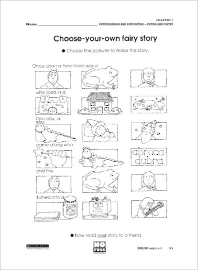 Choose your own fairy story