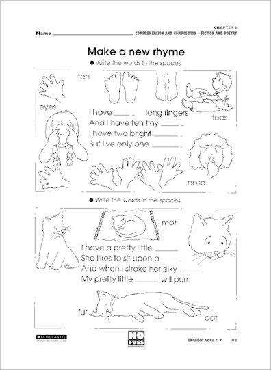Make a new rhyme