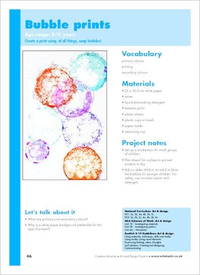 Bubble prints