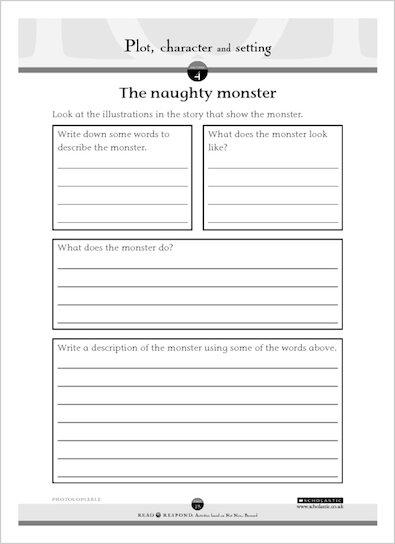 The naughty monster