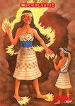 Fire myths: Maui tricks Mahuika (2 pages)