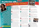 An interview with Dame Kelly Holmes